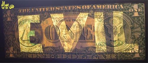 the evil of money